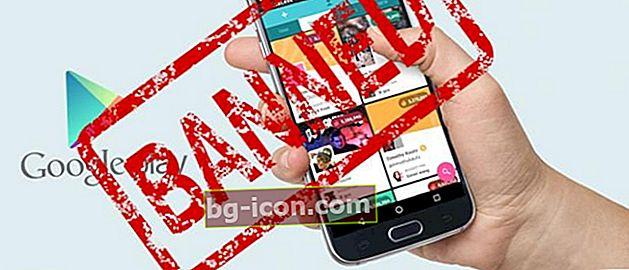 Även om de är mycket användbara är dessa 10 applikationer förbjudna från Play Store, varför ja?