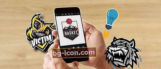 7 av de bästa logotillverkarapplikationerna på Android, du behöver inte vara bra på design!