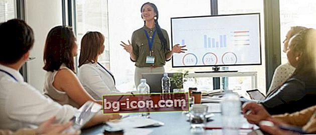10 presentationsapplikationer bortsett från gratis PowerPoint, online och offline