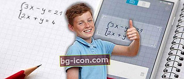 10 matematiska applikationer på mobiltelefoner och datorer, svar på frågor, levande foton Doang!