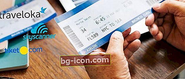 8 billiga och mest pålitliga applikationer för flygbiljetter, gör förberedelser för semester!
