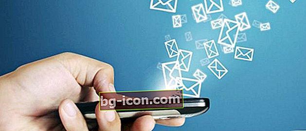 Hur man trycker på andras SMS Utan att fastna