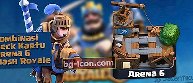 Combinaciones de cartas (Battle Deck) Arena 6 Mejor Clash Royale