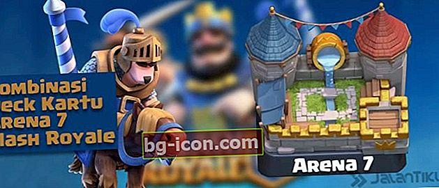 Combinaciones de cartas (Battle Deck) Arena 7 Mejor Clash Royale