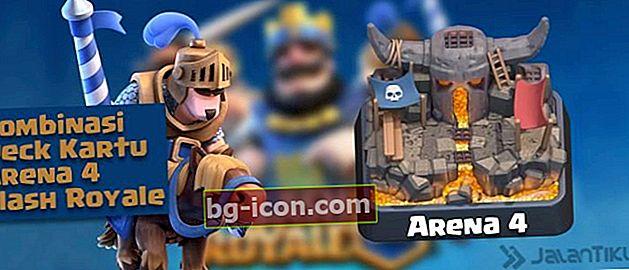 Combinaciones de cartas (Battle Deck) Arena 4 Mejor Clash Royale