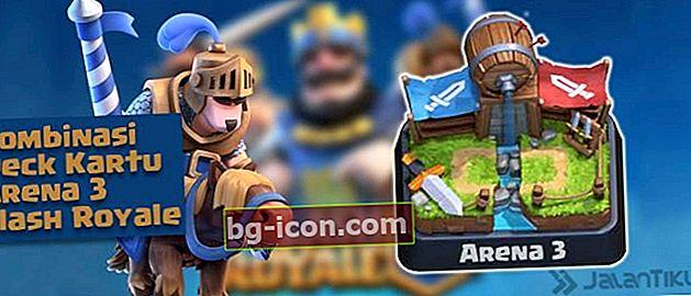 Combinaciones de cartas (Battle Deck) Arena 3 Mejor Clash Royale