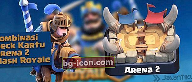 Combinaciones de cartas (Battle Deck) Arena 2 Mejor Clash Royale