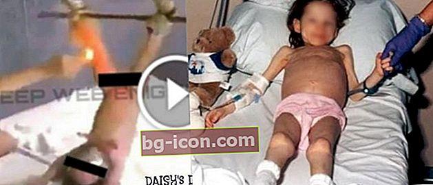"""Sadistisk! Historien bakom """"Daisy Destruction"""" -pedofilsexvideo på webben"""