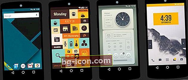 6 temas geniales de lanzador que hacen que tu Android sea aún más loco