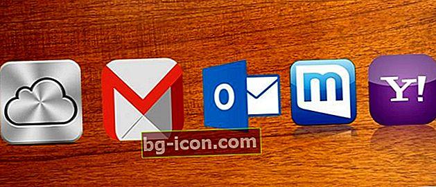 Så här skapar du enkelt gratis e-postmeddelanden på Yahoo, Gmail, Outlook, Mail.com och iCloud!