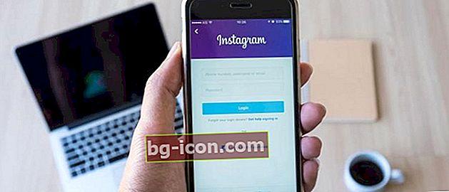 Så här anger du ett Instagram-konto med Facebook