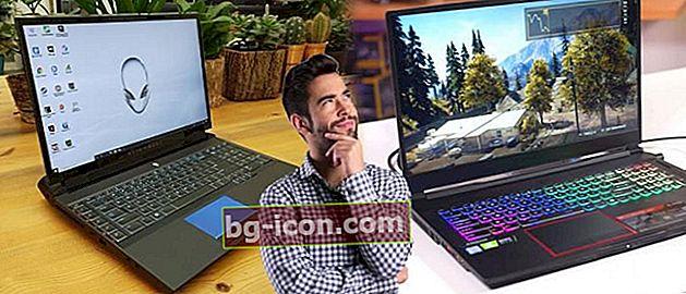7 bärbara datorer med de största skärmarna för närvarande, minst 17 tum!