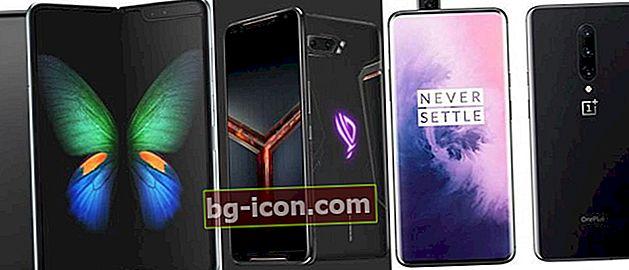 9 bästa mobiltelefoner som släpps fram till slutet av 2019, värt att vänta på!