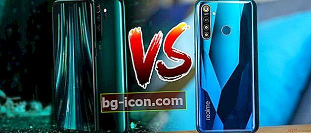Jämförelse av Real 5 Pro vs Redmi Note 8 Pro, Duel Android Mobile RP 3 miljoner!