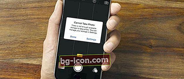 Fullt minne? Så här sparar du 16 GB internt iPhone-minne