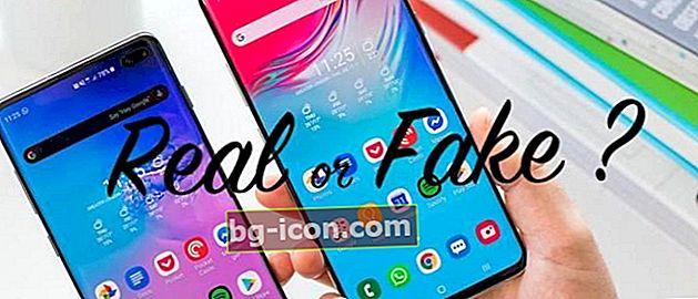 Så här kontrollerar du den mest exakta / falska Samsung-mobiltelefonen, se upp för att köpa HDC!