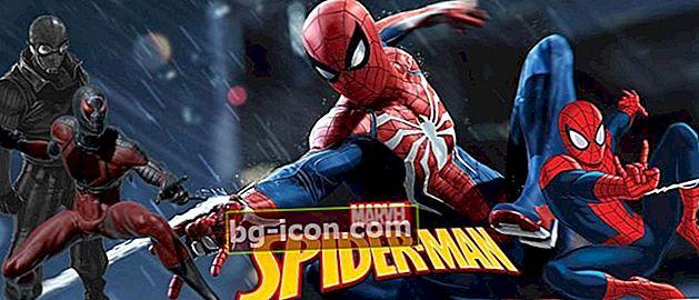 10 offline Spiderman-spel du måste prova!