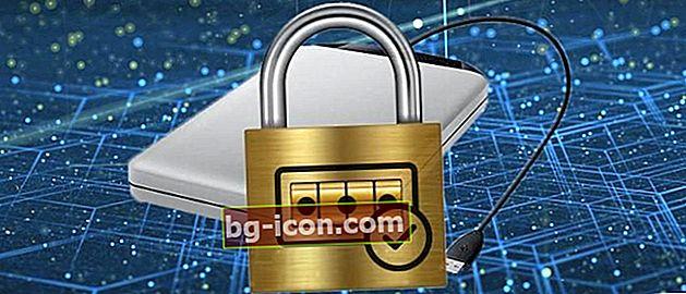 Hur man skyddar externa hårddiskar med ett lösenord Datasäkert!