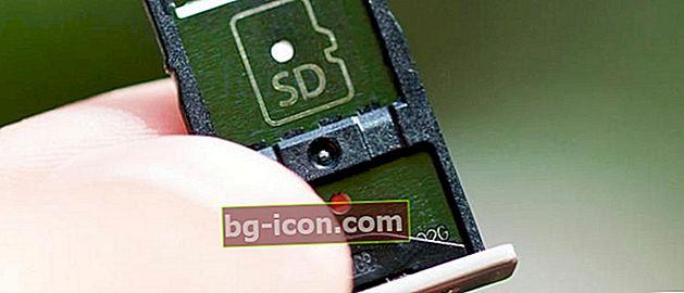 Så här installerar du ett SIM- och Micro SD-kort samtidigt på en smartphone-hybridplats