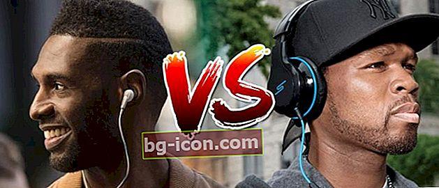 ¡Haz Budeg! ¿Cuál es el más peligroso, los auriculares frente a los auriculares?
