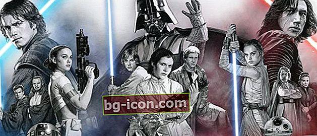 Den korrekta sekvensen av Star Wars-filmer efter år, berättelsen om tre generationer av Skywalkers!
