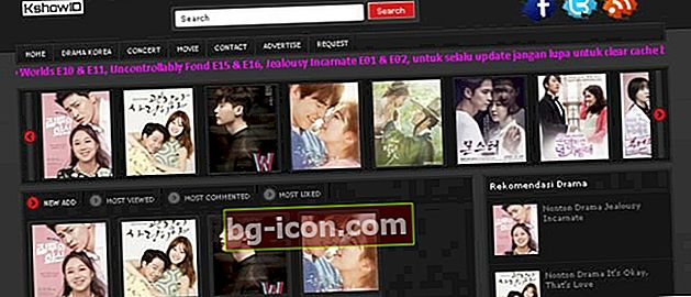 Última dirección del sitio de Kshowid 2020: Drama coreano completo con Indo Sub