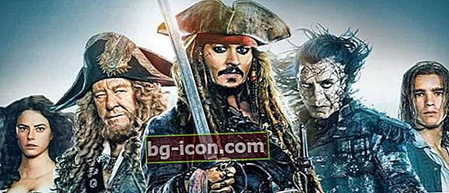 7 av de bästa piratfilmerna genom tiderna, fulla av spännande äventyr!