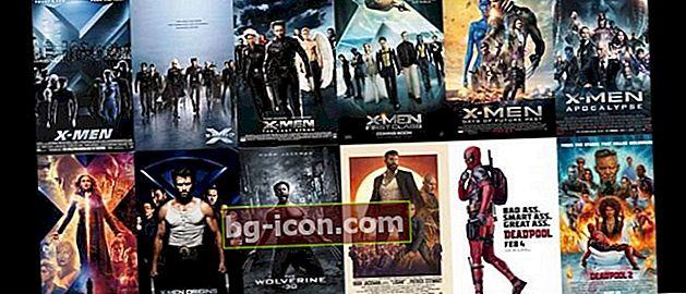 La secuencia de películas de X-Men de principio a fin está completa, ¡así que no te confundas!