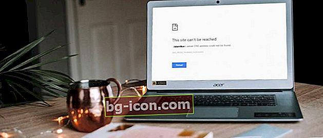 """5 formas de superar """"No se puede acceder a este sitio"""" en Chrome"""