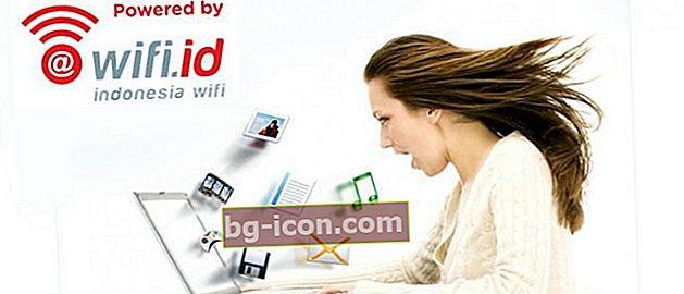 Hur får jag tillgång till Wifi.id Internet GRATIS!