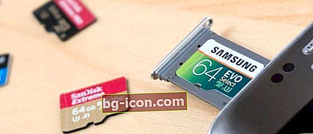 Hur man formaterar SD-kort på Android och PC / Laptop, 100% säkert!