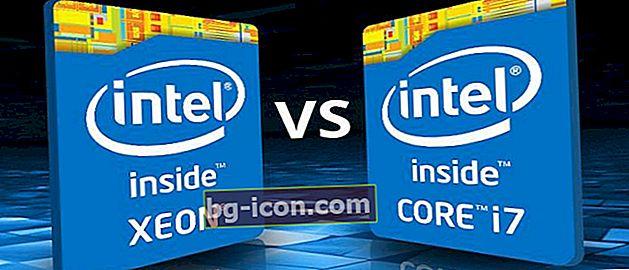Detta är skillnaden mellan Intel Core i7 och Intel Xeon-processorer