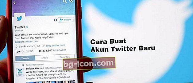 Cómo crear una nueva cuenta de Twitter en un teléfono Android