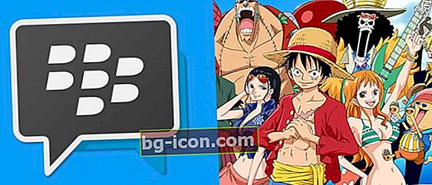 BBM Mod One Piece: BBM Android-applikation med ONE PIECE-tema