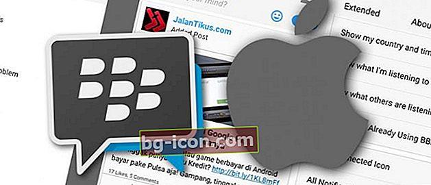 BBM Mod iOS: Ändra utseendet på BBM Android som den senaste versionen av BBM iPhone