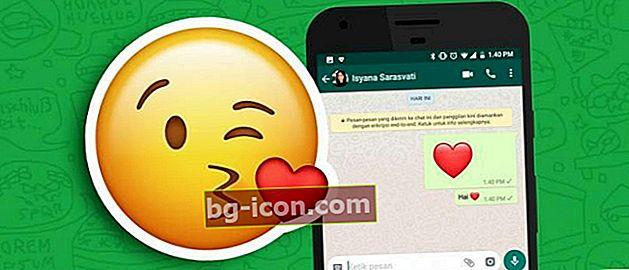 Hur man gör rörliga emoji på WhatsApp, chatt är ännu roligare!