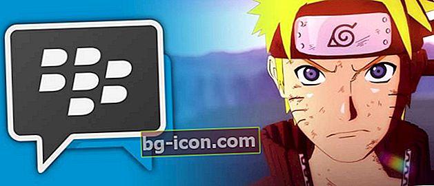 Hur man använder den senaste Naruto Theme BBM Mod på Android