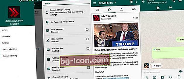 BBM Mod WhatsApp: Ändra utseendet på BBM Android så att det blir som WhatsApp
