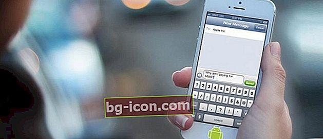 Enkla sätt att göra din Android-mobiltelefon SMS-skärm som en iPhone