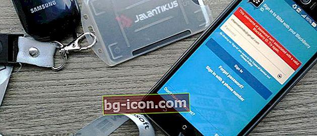 2 effektiva sätt att återställa glömt BBM-lösenord