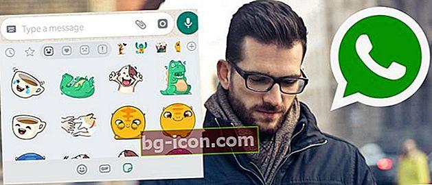 Hur man använder klistermärken för WhatsApp för att göra det coolare!