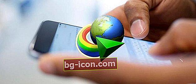Internet Download Manager Android-applikation + Hur man använder den