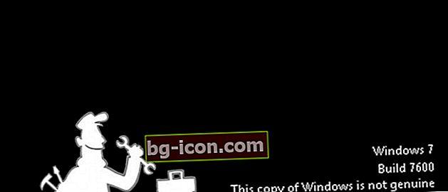 Hur bli av med Windows 7 varning inte äkta utan programvara