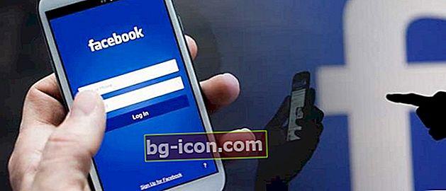 Hur man loggar in på Facebook utan att behöva skriva din e-postadress och lösenord