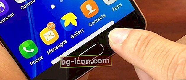 7 Ansökan om ersättning av rygg-, hem- och senaste Android-nycklar