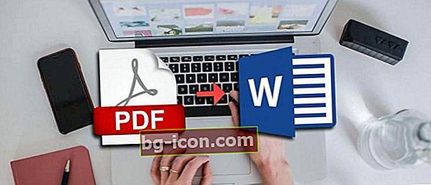 5 sätt att konvertera PDF till Word på bärbar dator och Android Uppkopplad nedkopplad!