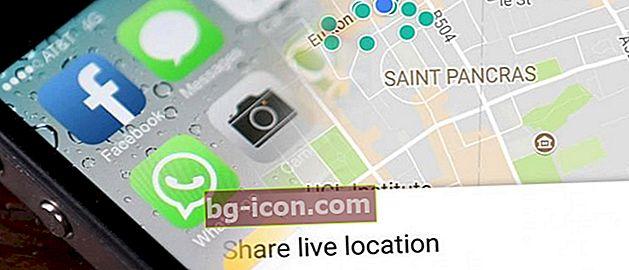 Hur man hittar någons plats via WhatsApp på en mobiltelefon, det är väldigt enkelt!