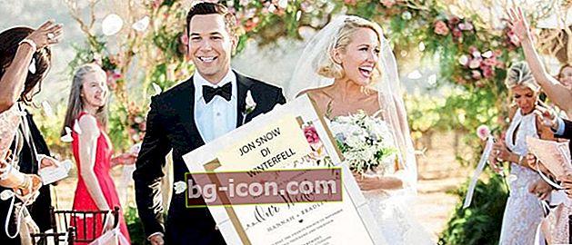 Det enklaste sättet att skriva ut inbjudningsetiketter | För äktenskapsförberedelser!