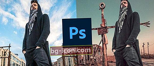 Hur man byter fotobakgrund i Photoshop, snabbt och enkelt!