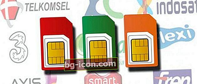 Cómo registrar tarjetas Telkomsel, XL, Indosat, Tri, Smartfren | Último 2021